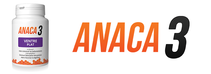 Anaca3 ventre plat : Complément alimentaires