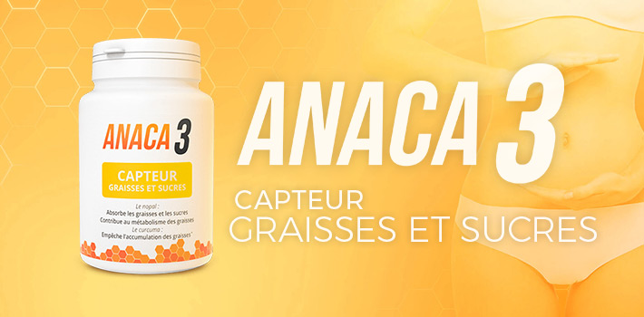 Anaca3 capteur graisses et sucres : Efficace et pas cher ?