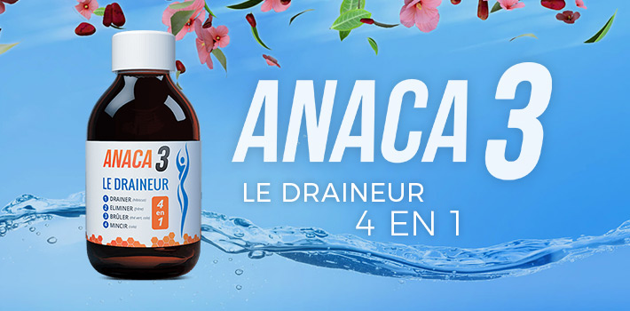 Acheter Anaca3 le draineur : Pharmacie ou sur le site