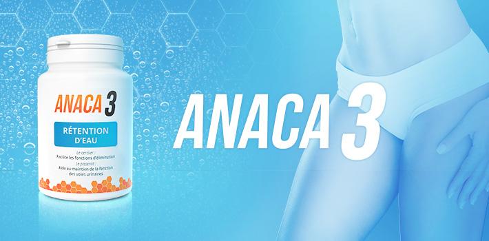 Anaca3 rétention d'eau : notre nouveau partenaire contre les ballonnements