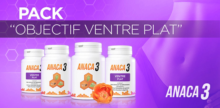 Pack objectif ventre plat Anaca3